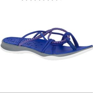 Merrell Sz 7 Royal Blue Sunstone Strap Sandals